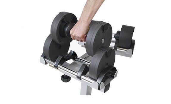 NÜO athletics nüobell set 2-20kg från sidan